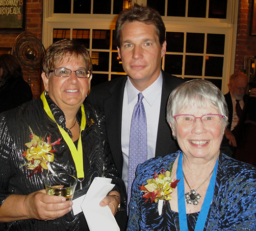 Former Executive Director, Karen Fredericks Westchester County Commissioner of Mental Health, Michael Orth Founder, Pat Sparkman
