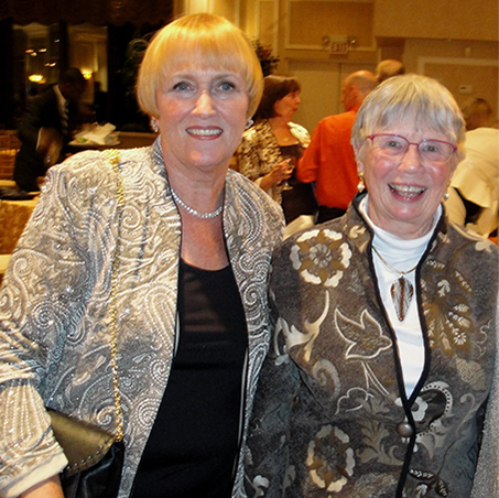 Former Associate Executive Director, Betty Mutschler Founder, Pat Sparkman
